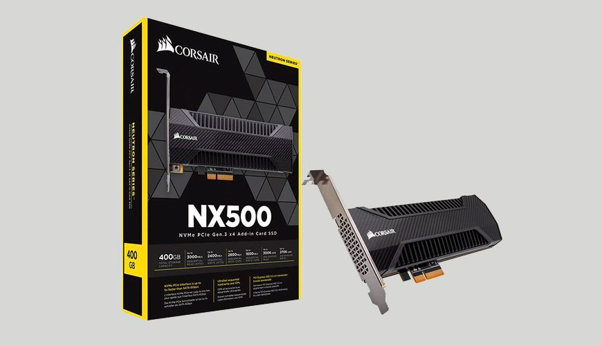 Corsair Neutron NX500 NVMe SSD Review
