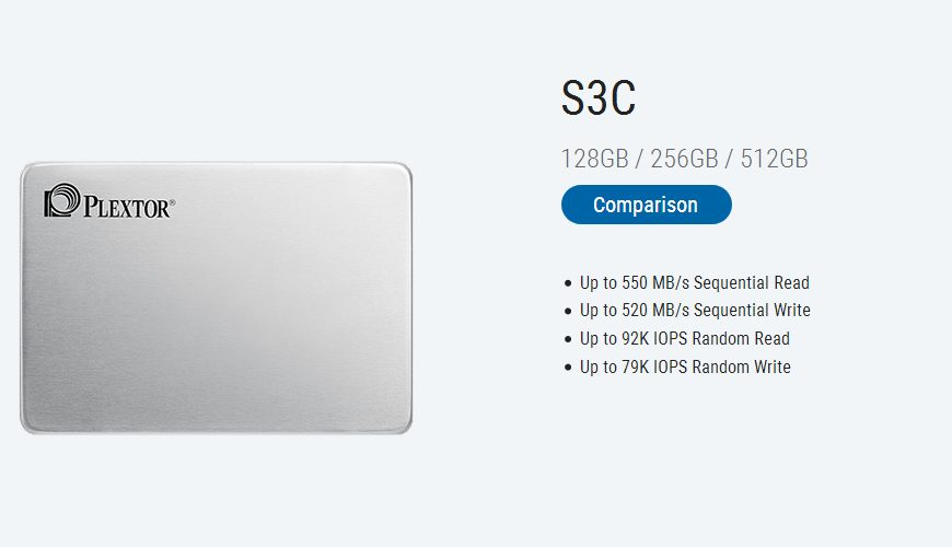 Plextor S3C SSD Review