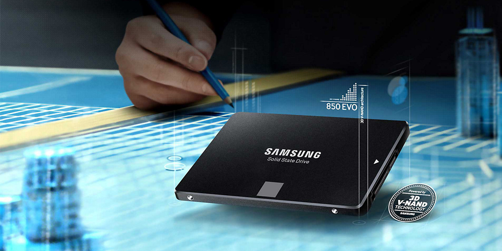 Samsung 850 EVO SSD series see a price reduction and at their lowest now