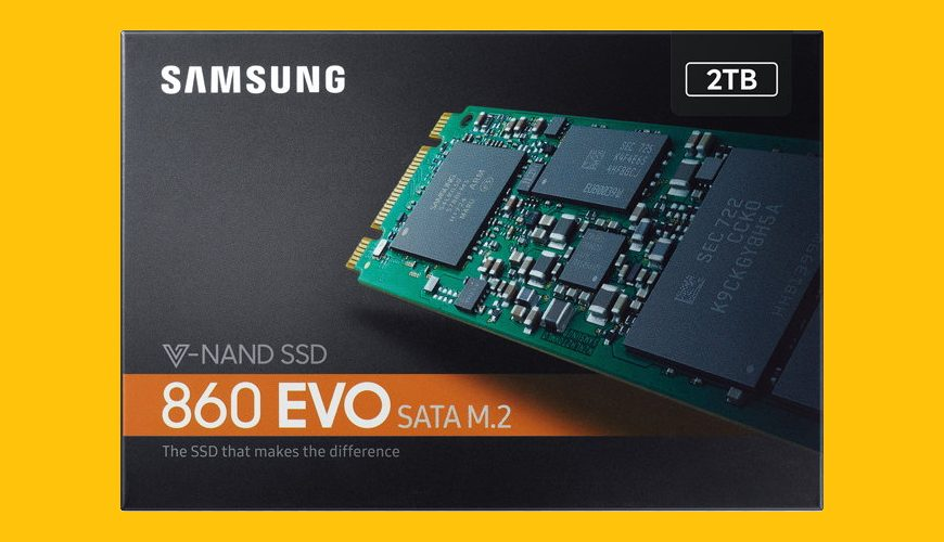 Samsung 2TB 860 EVO M.2 SATA3 SSD Review