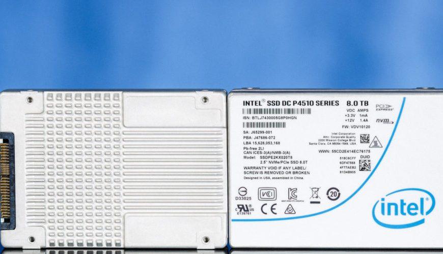 Intel SSD DC P4510 Enterprise NVMe SSD Review