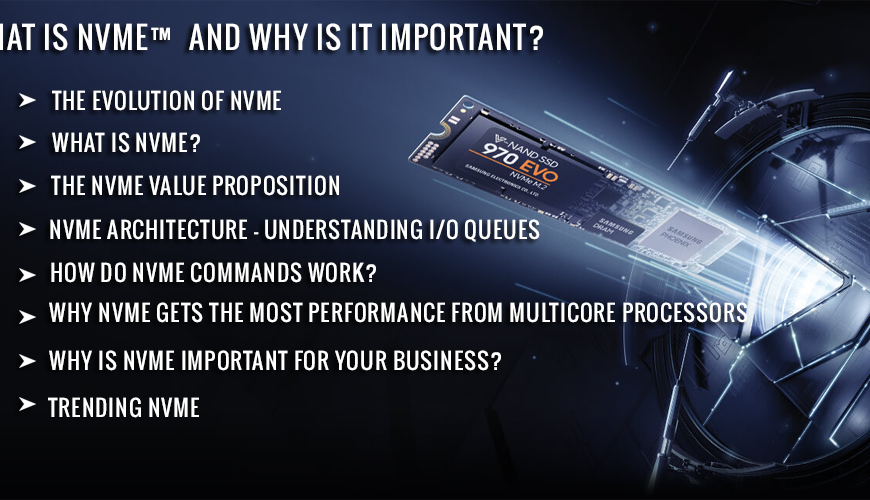 What is NVMe and why is it important?